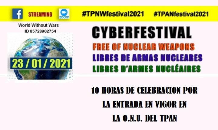 CYBERFESTIVAL «Libres de armas nucleares»