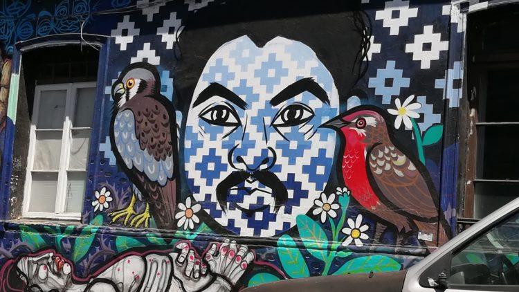 Grafiti Camilo Catrillanca