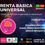 Il Reddito di Base Universale e Incondizionato sarà presente al Forum Sociale Mondiale