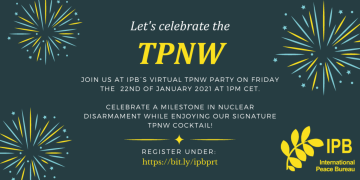 Let´s Celebrate the Treaty on the Prohibition of Nuclear Weapons Entry into Force Together!