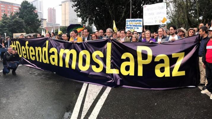 Colombia: un llamado para apoyar la paz a Jo