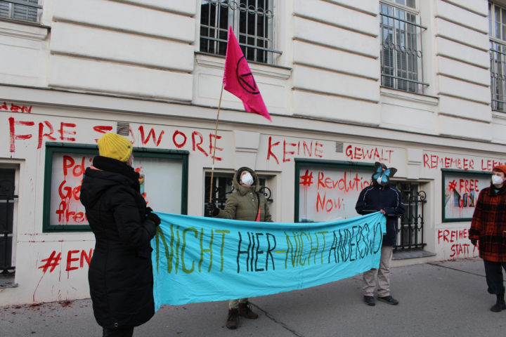 Extinction Rebellion fordert Entlassung von in Nigeria inhaftierten Aktivist*innen