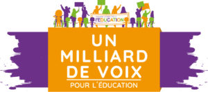 Lancement de la Campagne mondiale pour l'éducation (CME) Un milliard de voix pour l'éducation