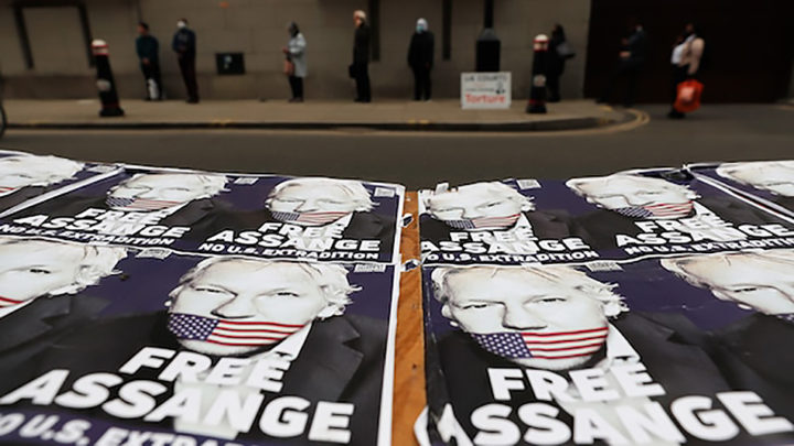 Assange's Victory, Still Press Freedom in Jail