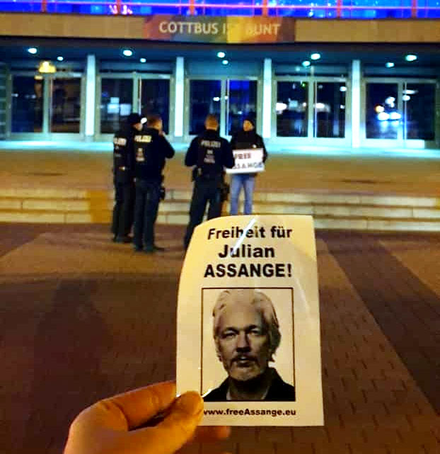 Julian Assange verdient den Friedensnobelpreis!