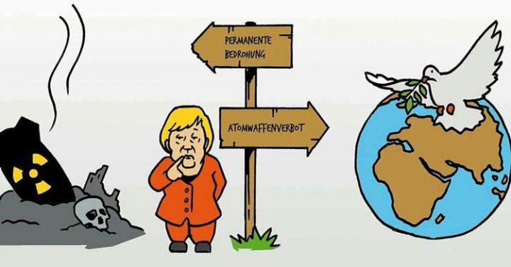 Skandalös: Bisher weigert sich Deutschland dem UN-Atomwaffenverbotsvertrag beizutreten
