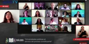 [Chile] Rectores de universidades públicas se comprometen a abrir espacios para debate ciudadano y a interpelar a la élite en proceso constituyente