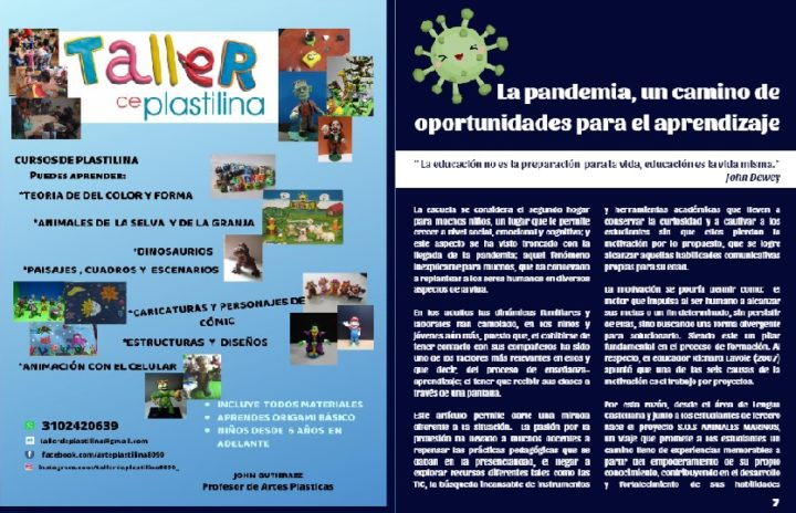 Colombia: La pandemia, un camino de oportunidades para el aprendizaje