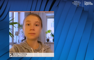 "[Video] Davos 2021, Greta Thunberg ai leader mondiali:""Smettetela con i bla bla bla"""