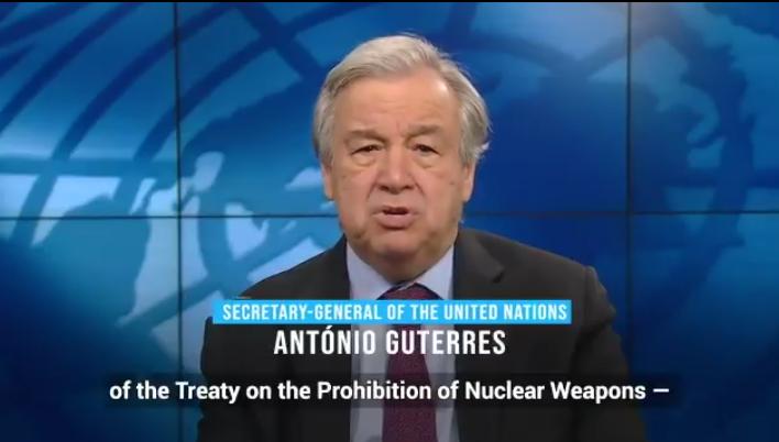 Entra en vigor el TPAN, pese a las potencias nucleares y la OTAN