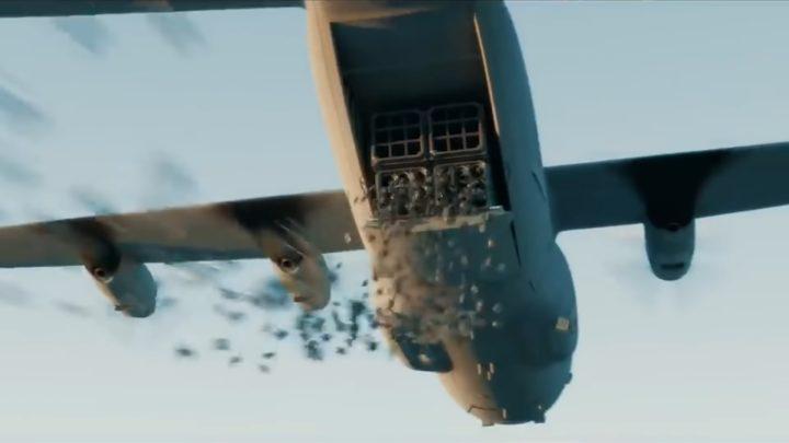 Drones asesinos desplegados en masa