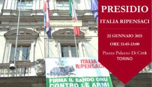 Torino: presidio per l'entrata in vigore del Trattato TPAN