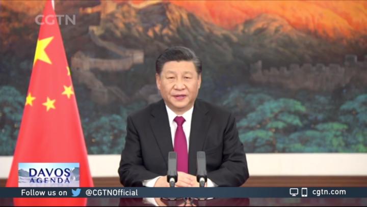 Texto completo del discurso pronunciado por Xi Jinping en el evento virtual de la Agenda de Davos