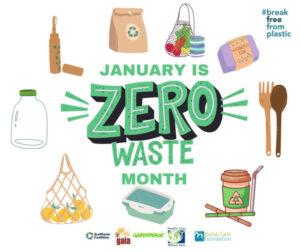 Organizações ambientalistas lançam atividades para o Mês do Desperdício Zero