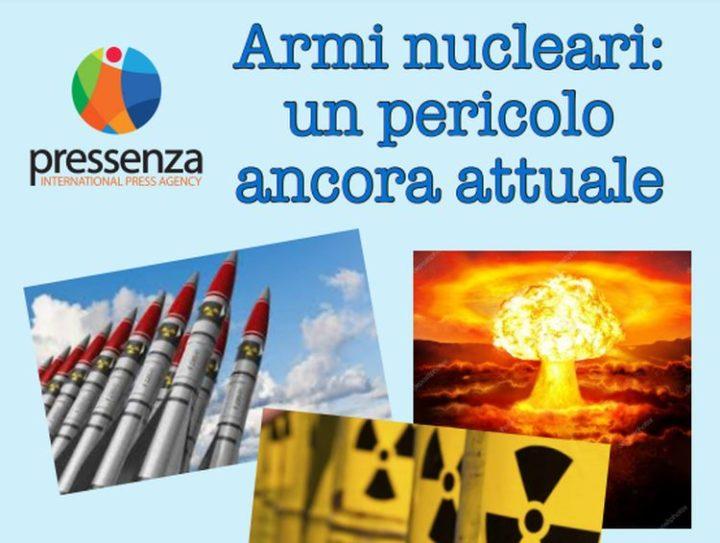 Armi nucleari, un pericolo ancora attuale: webinar 22 gennaio per celebrare il TPAN