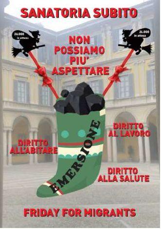 Milano 8 gennaio: la befana arriva in Prefettura