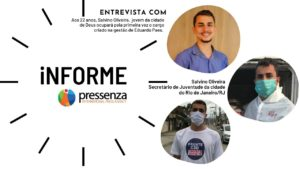 Jovem da Cidade de Deus é o novo Secretário de Juventude do Rio