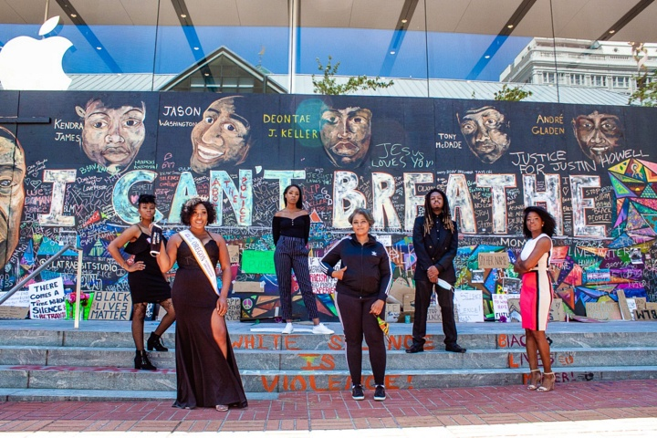 How the Community Helps Sustain Portland's Ongoing Black Lives Matter Protests