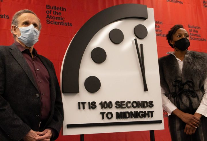 This Is Your Covid-19 Wake-Up Call: It Is 100 Seconds to Midnight