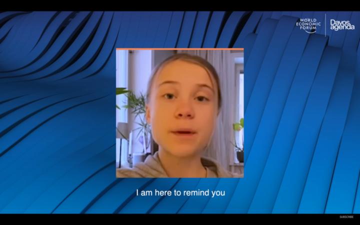 Enough 'Blah Blah Blah' From Global Elites, Greta Thunberg Declares at Digital Davos