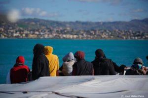 Sbarco a Porto Empedocle per i migranti soccorsi da Open Arms