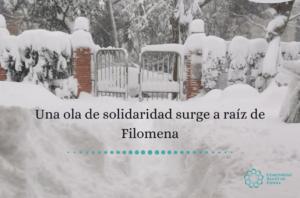 España: Una ola de solidaridad surge a raíz del temporal Filomena