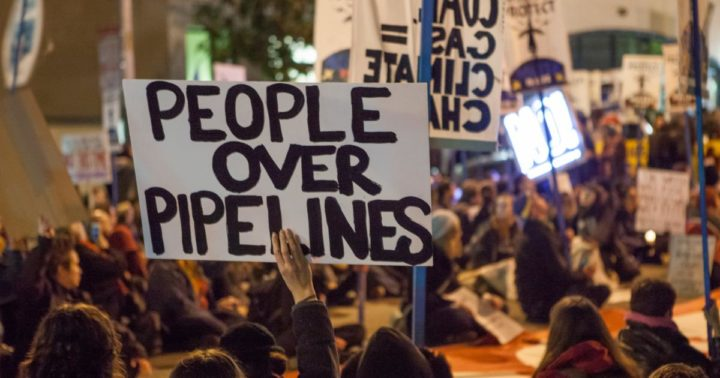 Blowing up pipelines
