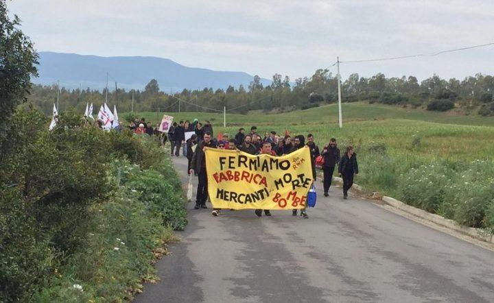 Interrompere la produzione delle bombeeimpedire l'espansionedella fabbrica RWM in Sardegna èpiù urgente che mai!