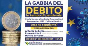 WEBINAR: LA GABBIA DEL DEBITO in tempo di pandemia