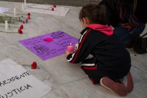 Proteste wegen Feminizids an Achtjähriger