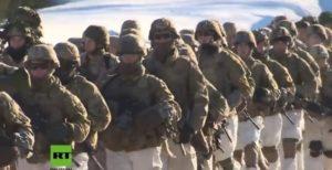 Mehr Truppen gegen Moskau