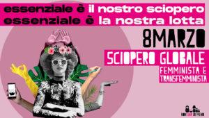 26 febbraio: Non Una Di Meno lancia lo sciopero femminista e transfemminista dell'8 marzo