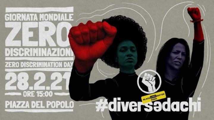 Black Lives Matter in piazza a Roma e nel resto del mondo per l'azzeramento delle discriminazioni