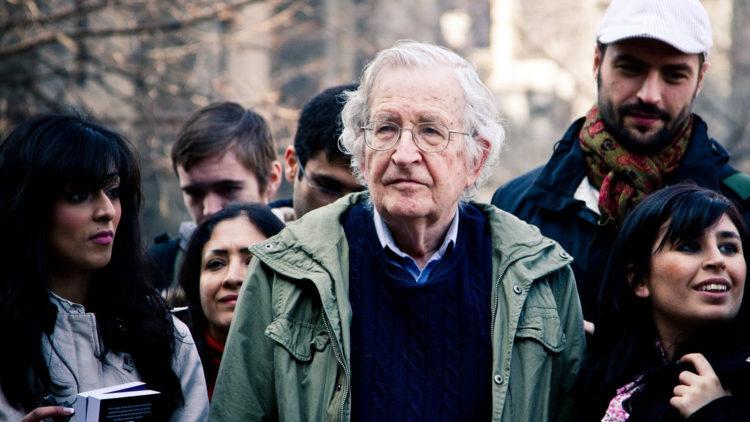 Noam Chomsky: Solidaritätsbewegungen sind der Schlüssel für eine Änderung der Nahost-Politik der USA