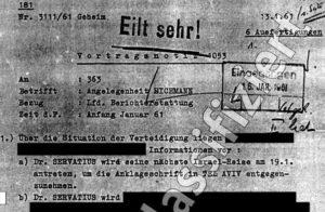 Die BND-Akten über die Strafsache Eichmann