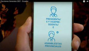 Εκουαδόρ: Με καταμέτρηση του 50% των ψήφων, οι Andres Arauz και Yaku Pérez θα πήγαιναν στον δεύτερο γύρο