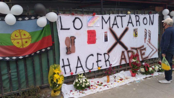 Chile: Carabinero não rima com arte de rua
