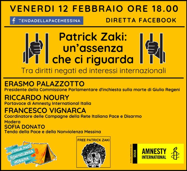Patrick Zaki: un'assenza che ci riguarda. Tra diritti negati e interessi internazionali