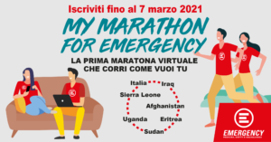 My marathon for Emergency