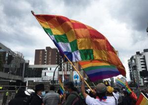 La marcha indígena llegó a Quito