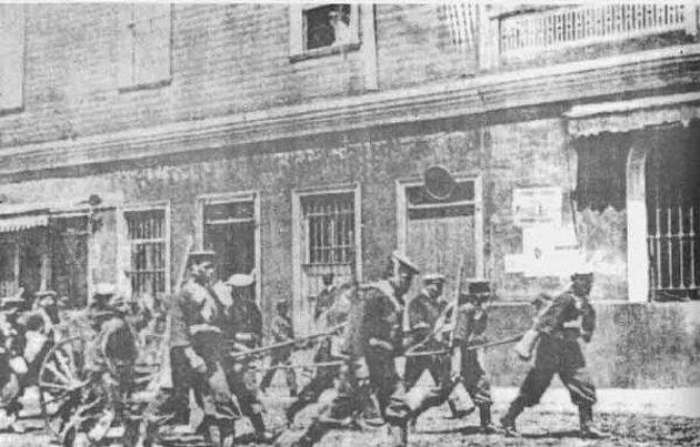 Centenario de San Gregorio: Primera masacre de Arturo Alessandri