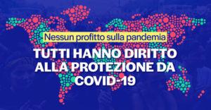 Moratoria sui brevetti relativi ai vaccini COVID: Italia appoggi la proposta di Sud Africa e India