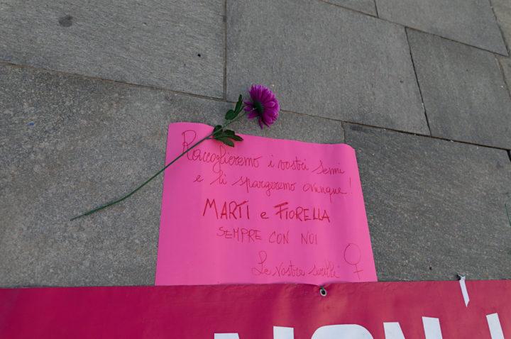 NUDM Presidio femminicidi 4