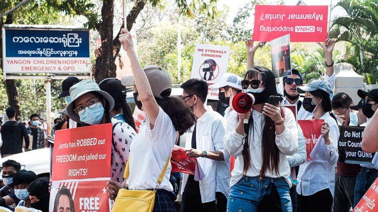 L'ONG Presse Emblème Campagne (PEC) s'inquiète de la fermeture complète d'Internet au Myanmar