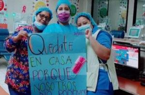 Honduras: Estado desprotege a las heroínas que están en primera línea luchando contra el Covid-19