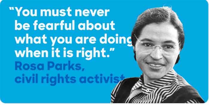 Rosa Parks e a Igualdade de Direitos
