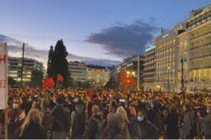 Svolta autoritaria del governo in Grecia con la militarizzazione degli atenei.