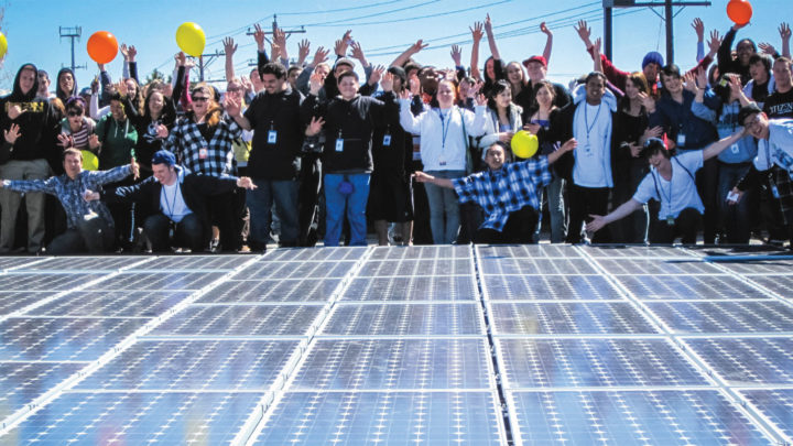 How Community Solar Power Projects Support Homeless Housing and Fight the Extractive Fuel Industry