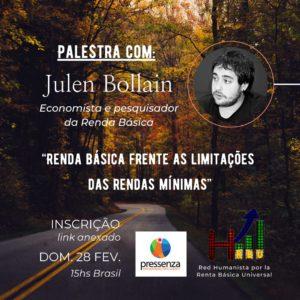 Conversa com Julen Bollain: A Renda Básica como solução para as deficiências da renda mínima