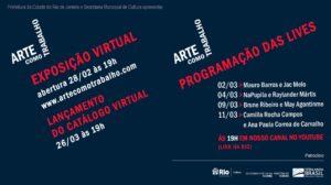 """""""ARTE COMO TRABALHO"""" REÚNE OBRAS DE 20 ARTISTAS"""